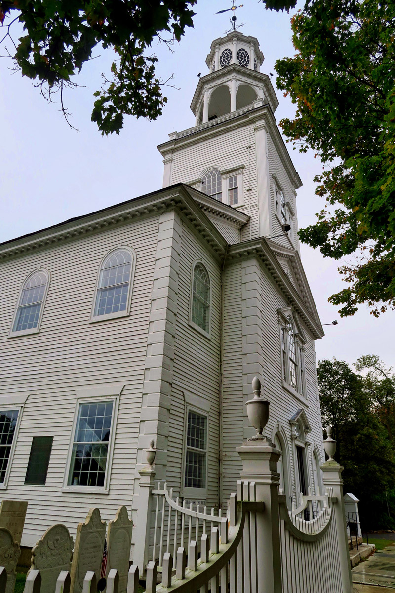 The Old First Church, congregation was organized in 1769, Vermont's first church dedicated to separation of church and state.