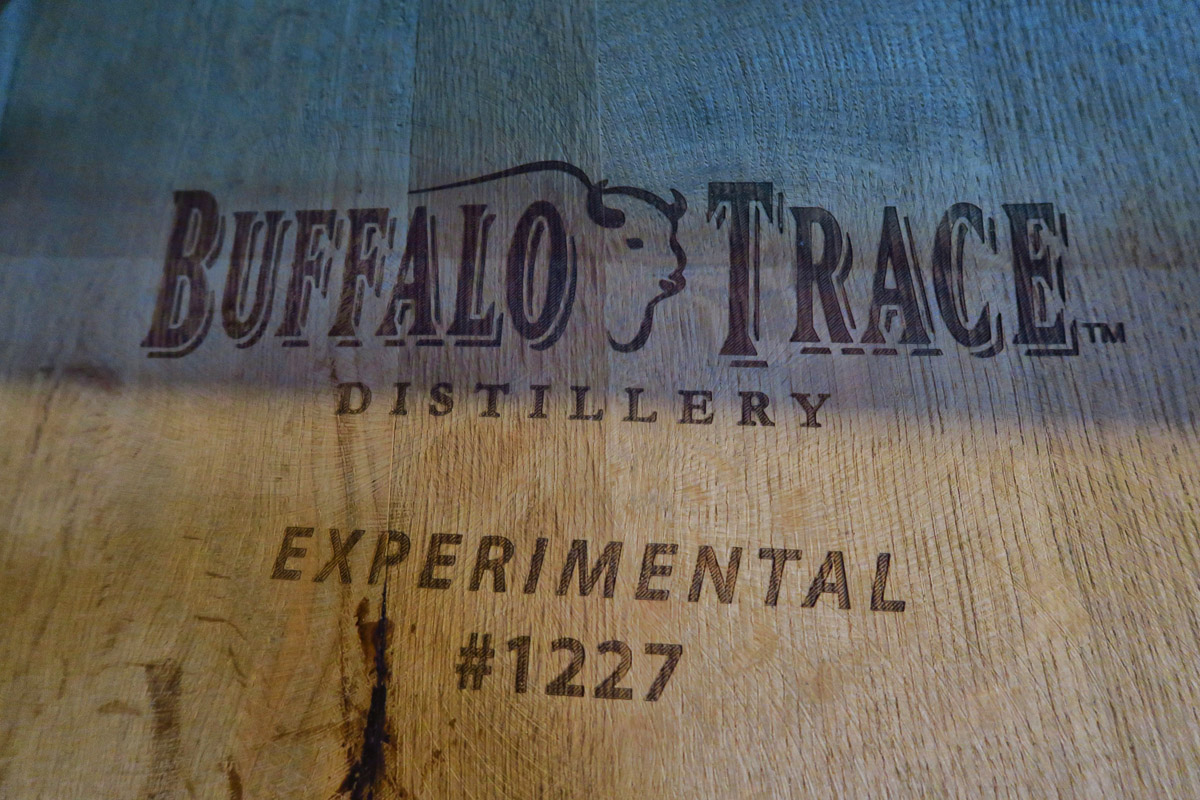 Bourbon brands require a lot of trial and error, with ongoing tasting through the aging process.