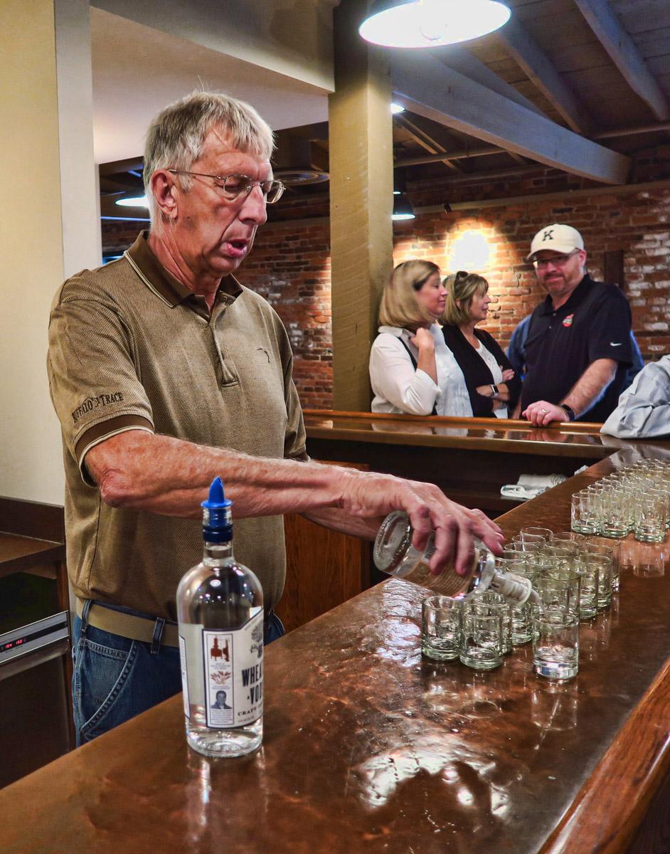 Buffalo Trace Bourbon Tasting