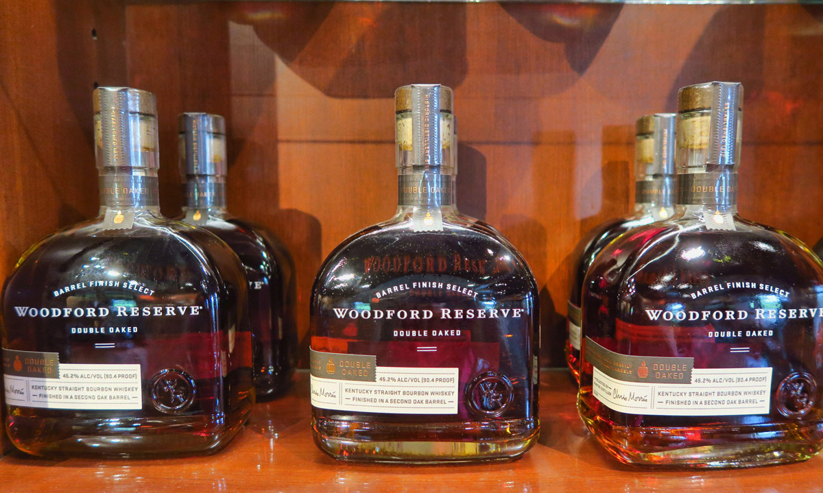 "Woodford's ""Double Oaked"" has staves added to the barrel for a second aging process."