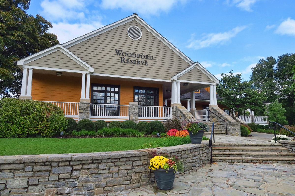 Woodford Reserve is the smallest distillery on the Kentucky Bourbon Trail.