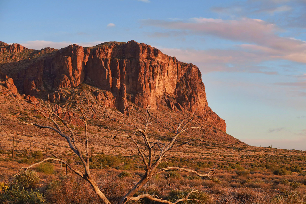 Prospector Trail, Lost Dutchman State Park