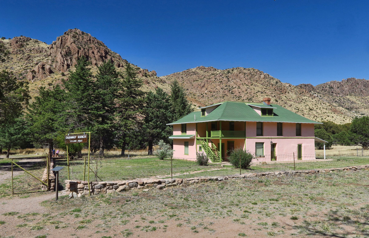 Faraway Ranch was at first a homestead in the late 1800's, but became a guest ranch in 1917.