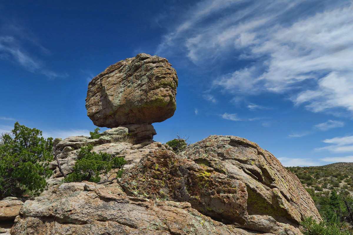 "Balanced Rock, but not the ""Big Balanced Rock."""