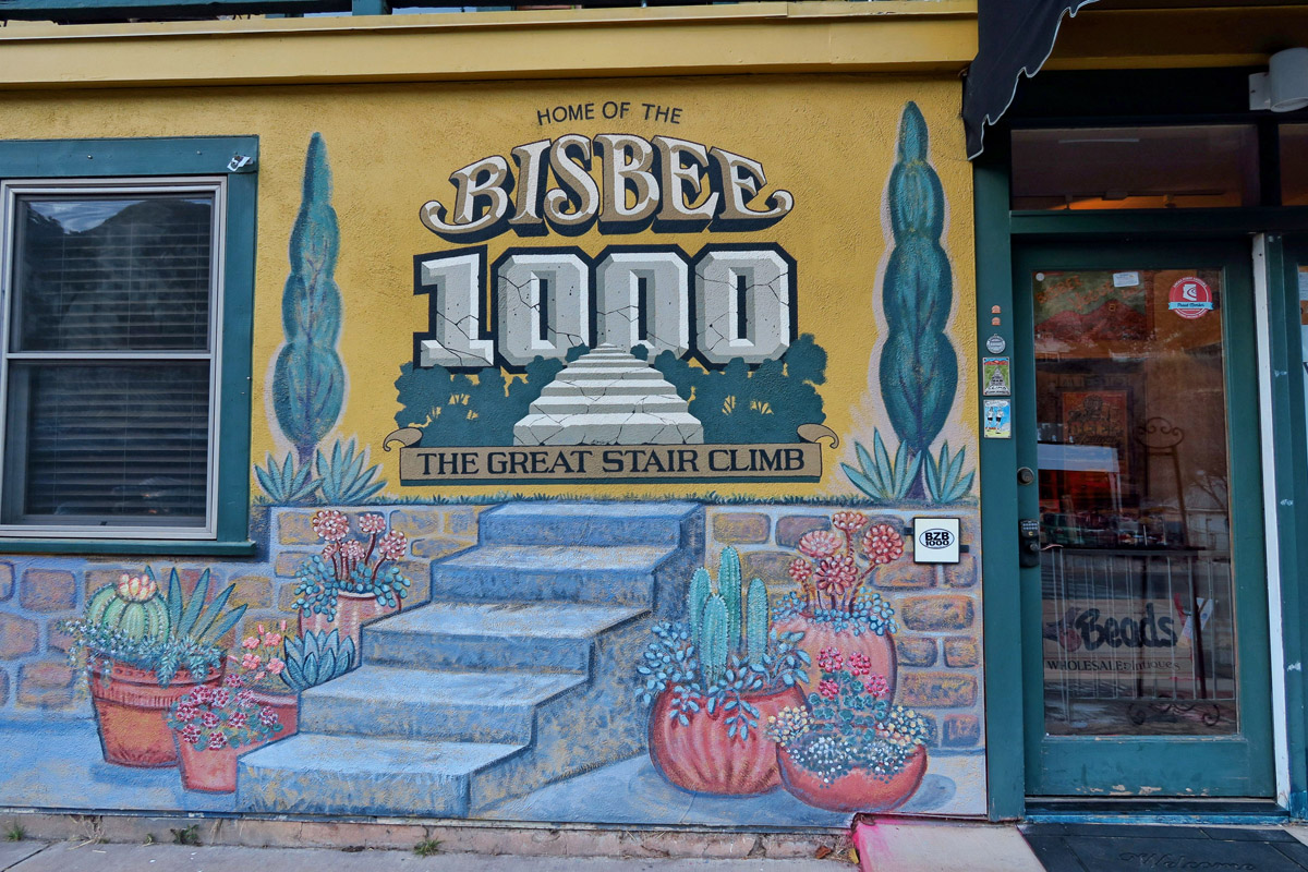 They have a race, the Bisbee 1000 every October.
