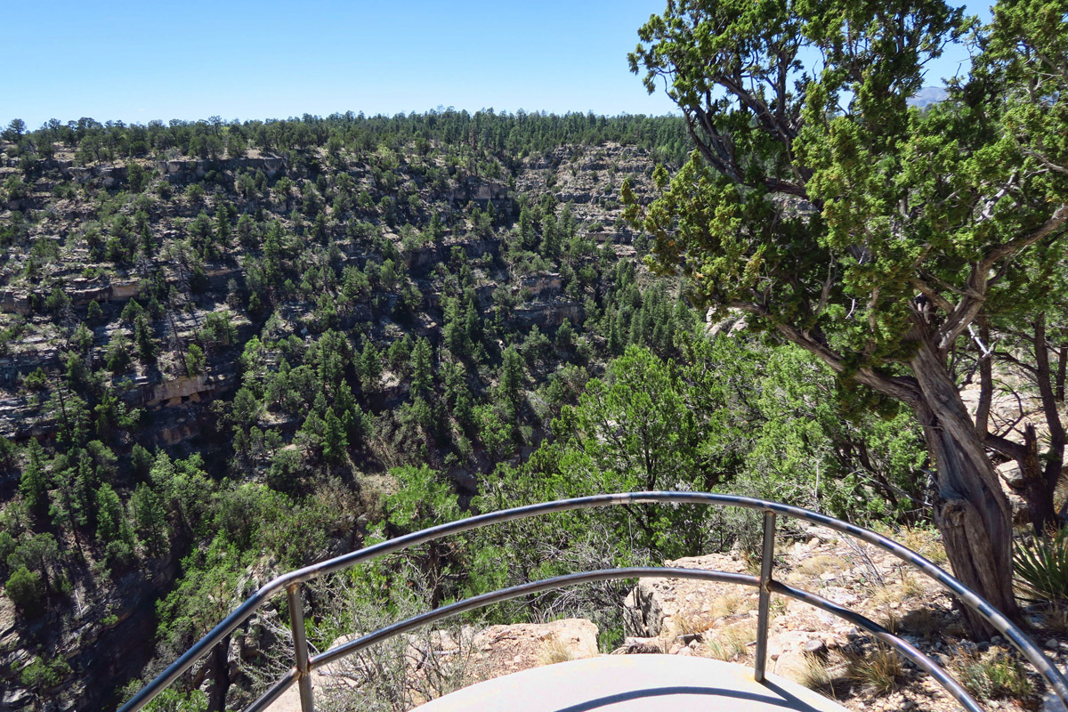 Just 10 miles outside of Flagstaff is the beautiful Walnut Canyon National Monument.