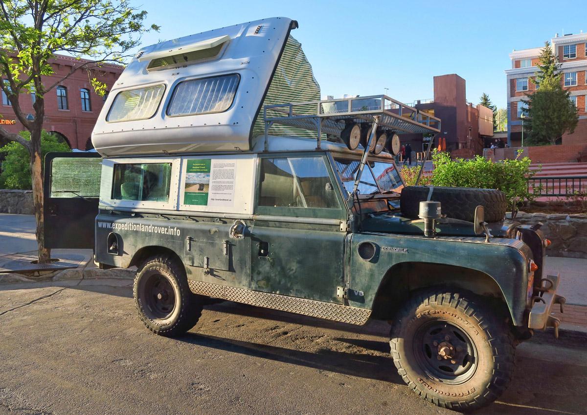 A 1960 Land Rover