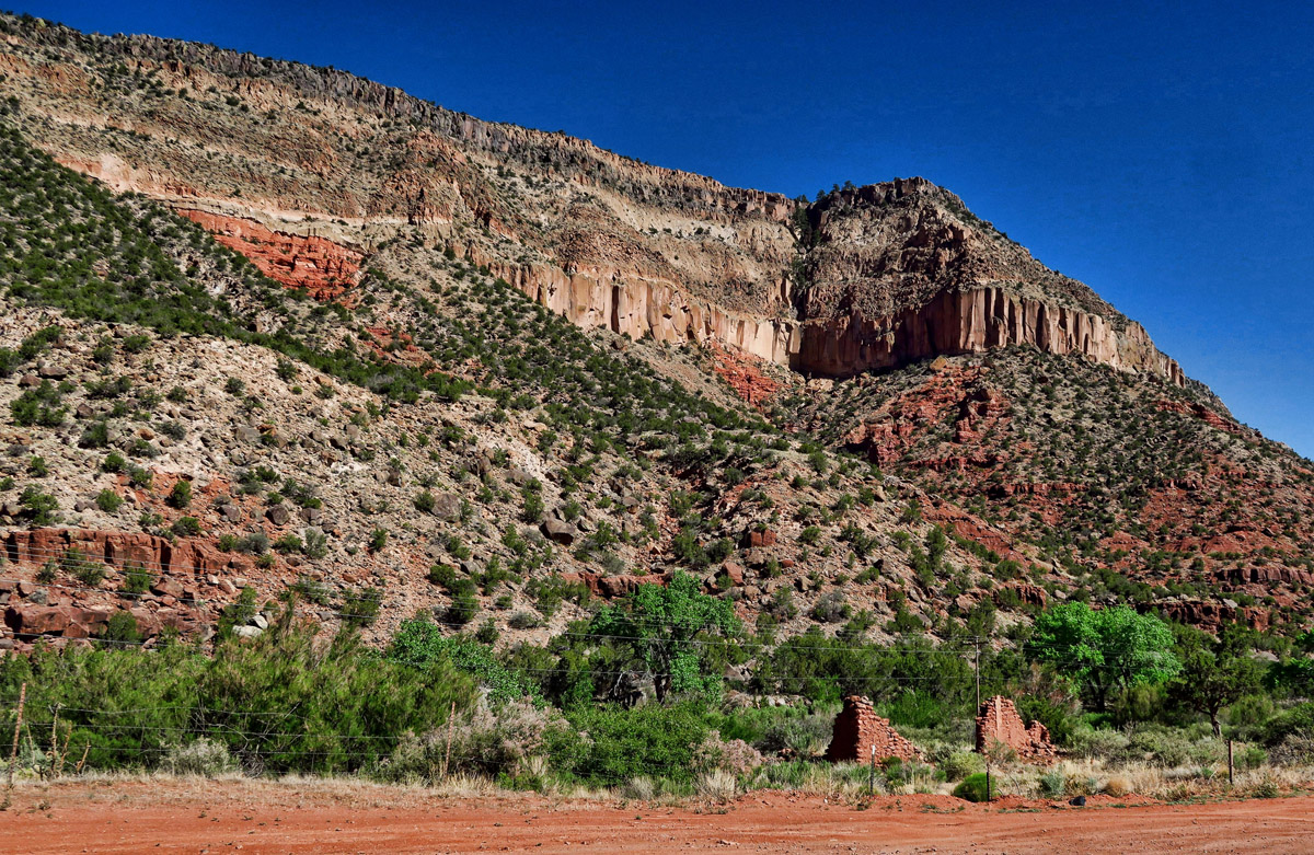 The drive through Jemez Pueblo and Jemez Springs is very scenic.