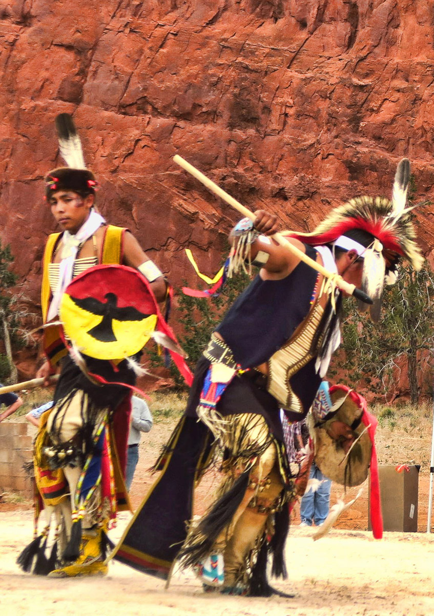 Several tribes performed throughout the day.